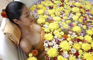 спа воронеж, спа ванны с цветами