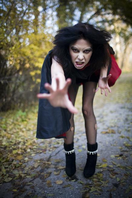 Вы просматриваете изображения у материала: Леди Хэллоуин - Фотоотчет 2