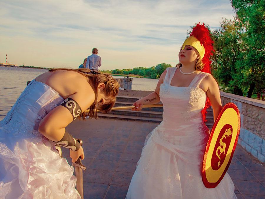 Вы просматриваете изображения у материала: Парад невест Воронеж 2013   Фотосет Рок-певицы и Богини   Надежда Пучнина, ч.2