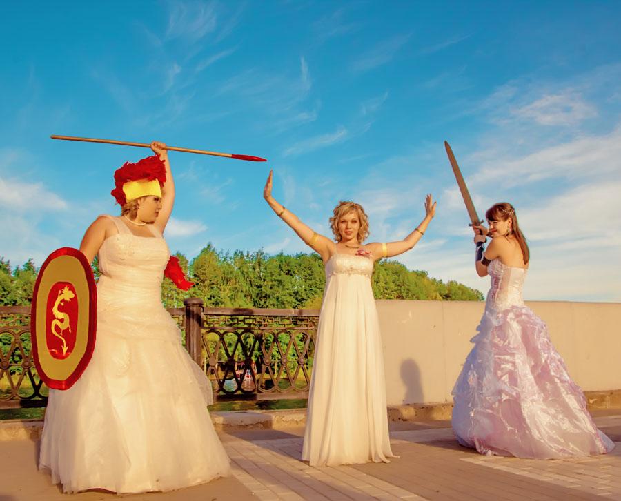 Вы просматриваете изображения у материала: Парад невест Воронеж 2013 | Фотосет Рок-певицы и Богини | Надежда Пучнина, ч.2