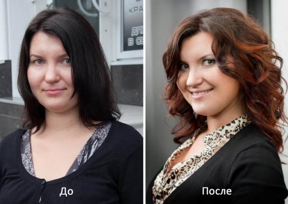 преображение до и после